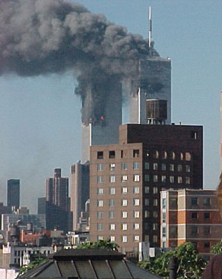 WTC Towers Burning