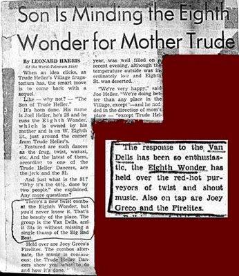 Eighth Wonder writeup of The Vandells