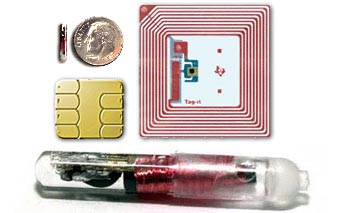 The Chips - credit card chip, product embedded chips and human embedded chips