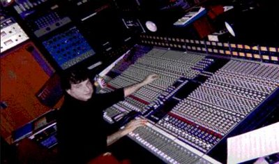 Chazz on the (SSL) Solid State Logic Console at Unique Studios