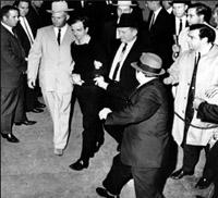Oswald Shot By Jack Ruby