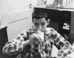 Chazz Drinking Milk