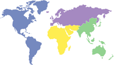 Current New World Order Map 2004