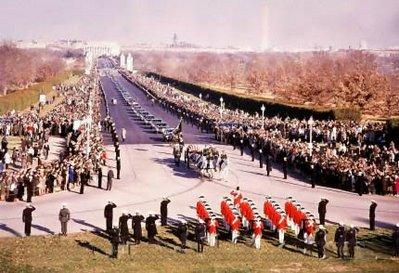 JFK's funeral, Arlington, Nov. 25, 1963