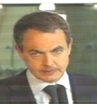 Zapatero en Barajas. Fuente: LD