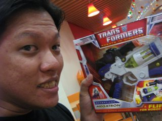 Mark's TF Classics Megatron.