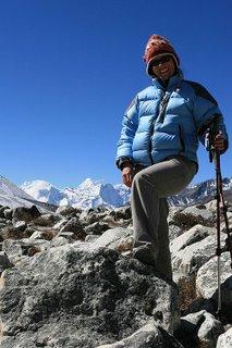 Molly in Nepal