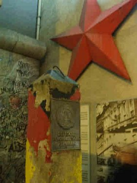 West Berlin was entirely embedded in East Germany