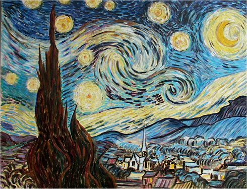 Copie d 39 autore for Van gogh notte
