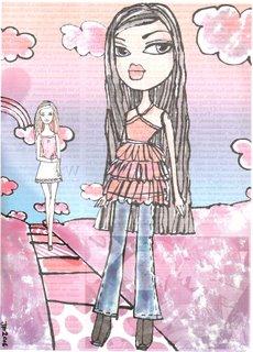 Bratz dolls vs. Barbie dolls