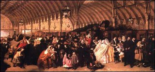 William P. Frith's The Railway Station (1862)