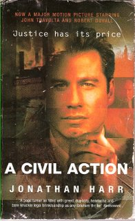 A Civil Action bookcover; Arrow Books