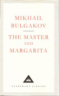 The Master and Margarita bookcover; Everyman's Library