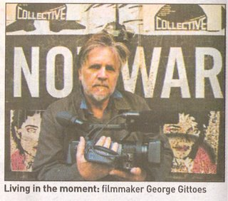 Filmmaker George Gittoes