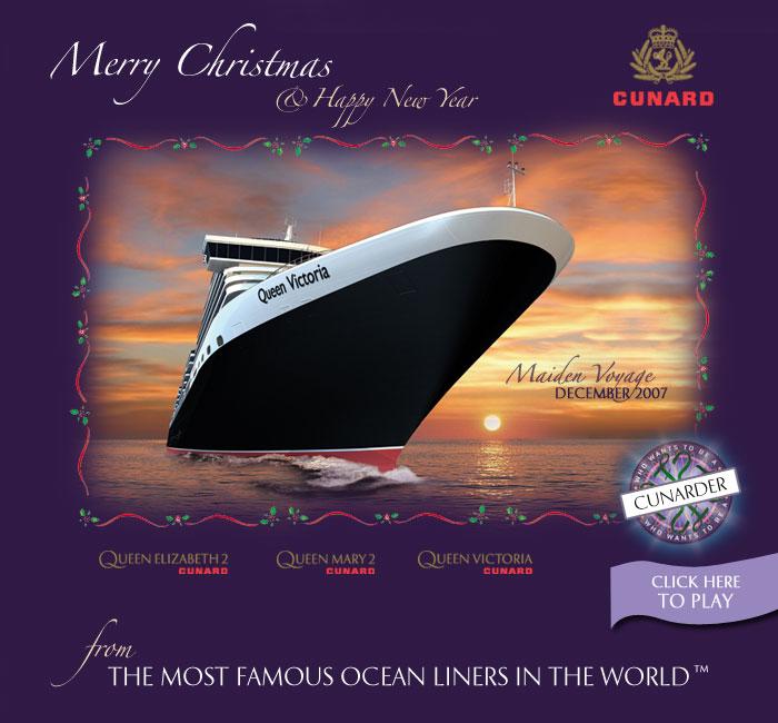 Ships The Sea Blogue Dos Navios E Do Mar Christmas Cards