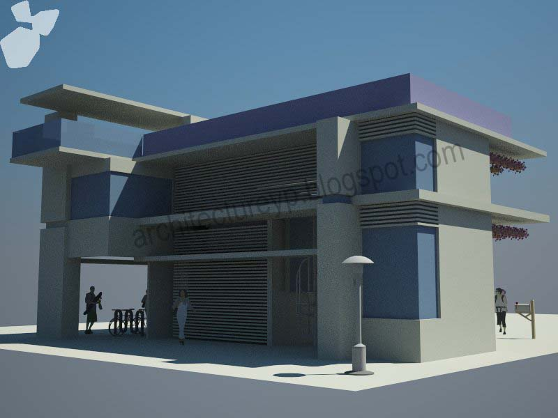 architecture.yp: Sketchup Design Practise 001