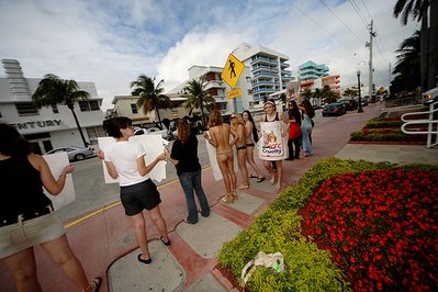 sex and the beach kfc protest
