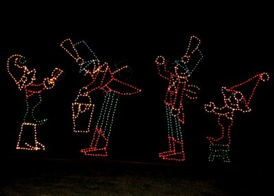 the Fantasy of Lights at Vasona Park in Los Gatos