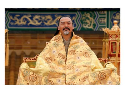 Chow Yun Fat as Emperor Ping in Curse of the Golden Flower