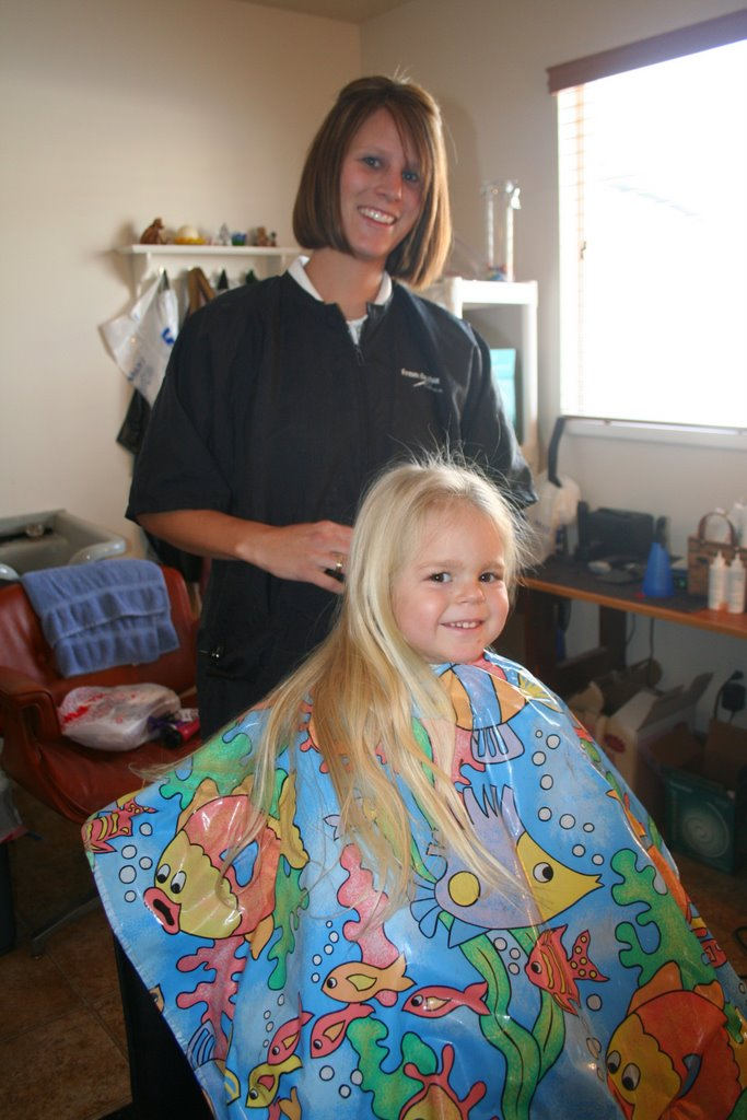 The Creswell Family Makinleys First Haircut