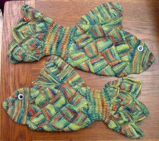 aLisa fish mittens - Bal�kl� eldivenler
