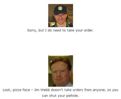 Jim Webb Brings His Special Brand of Hospitality to the Local Starbucks