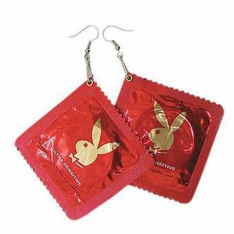 condom earring