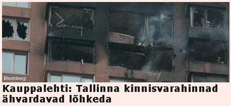 Kauppalehti: Tallinna kinnisvarahinnad ähvardavad lõhkeda