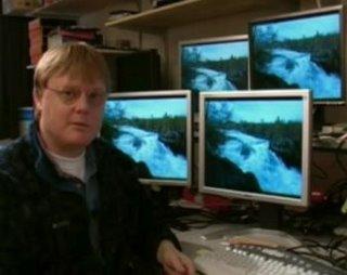 Mikrodatorns skärmtest