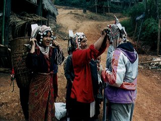 Mini Light and Sound Show of Akha Hilltribe