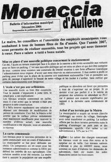 Publication municipale