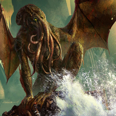 Art For The Call Of Cthulhu CCG Monsters