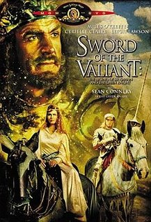 Sean Connery as the Green Knight - DVD cover