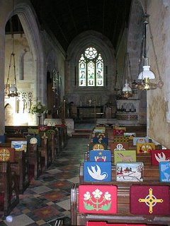 English country church interior