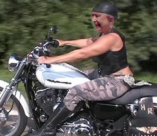 Ugly Biker Chicks
