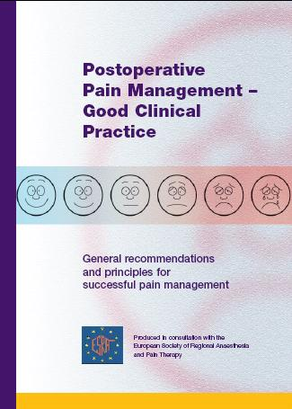 general recommendations and principles for successful pain management