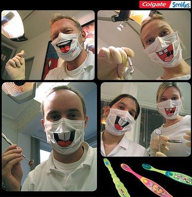 colgate mascarilla dentista