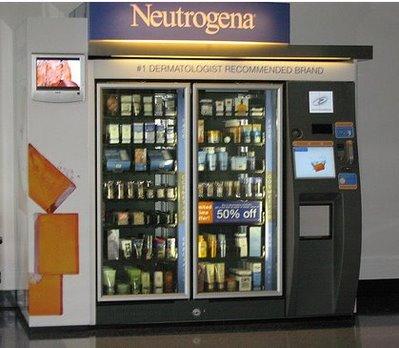vending productos belleza