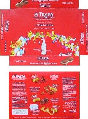 caja bombones promocion coca-cola