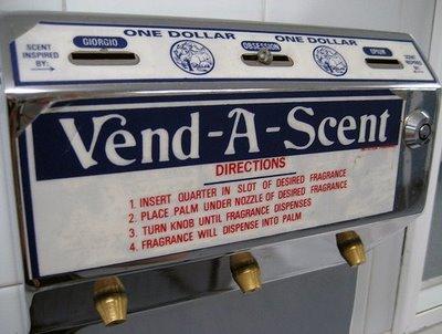 dispensador fragancias para manos vending