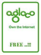 Agloco 100% free. On the Internet