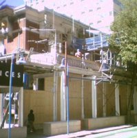 Demolition of the Malthouse building, Willis St
