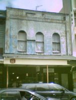 Shop at 158 Cuba St: up for demolition
