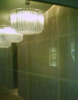 Apartment lobby - chandeliers
