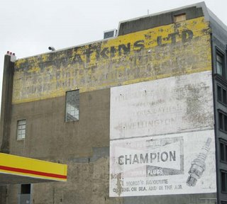 Old signs in Wellington - Watkins, Vivian St