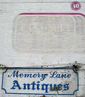Old signs in Wellington - Memory Lane, Ghuznee St