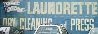 Old signs in Wellington - Laundrette, Abel Smith St