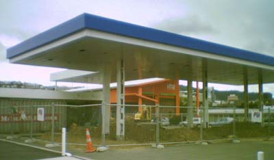 Possible demolition of Buckle St service station