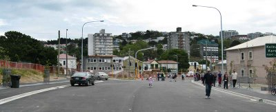 Wellington inner-city bypass: Karo Drive