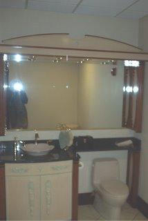 Restroom designed and built by J. Mifflin